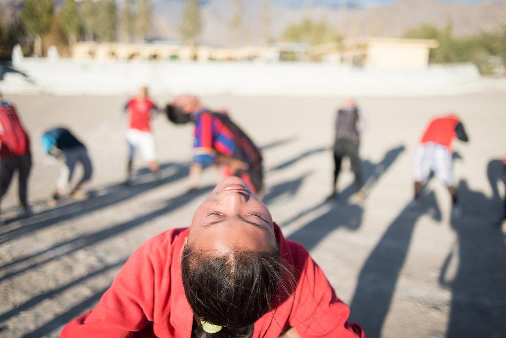 Tibetan Women's Football in India